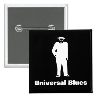 Universal Blues 15 Cm Square Badge