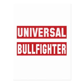 Universal Bullfighter Postcard
