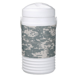 Universal Camouflage Pattern UPC Igloo Beverage Cooler