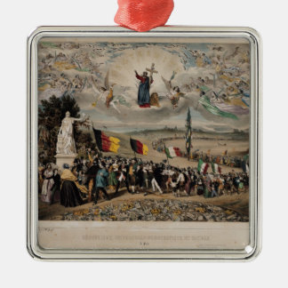 Universal Democratic and Social Republic, 1848 Christmas Ornament