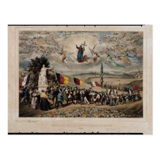 Universal Democratic and Social Republic, 1848 Postcard