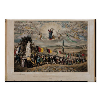 Universal Democratic and Social Republic, 1848 Poster