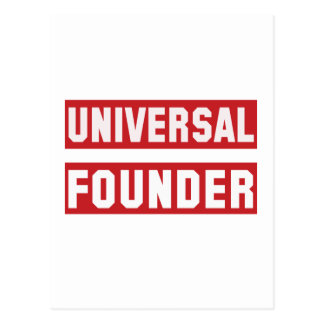 Universal Founder Postcard