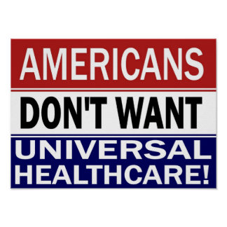 Universal Healthcare poster