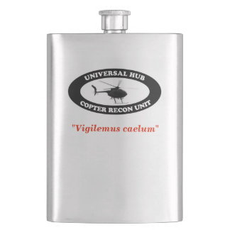 Universal Hub Copter Recon Unit hip flask
