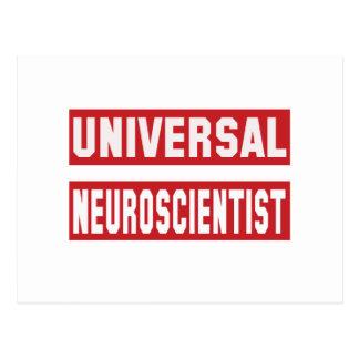 Universal Neuroscientist Postcard