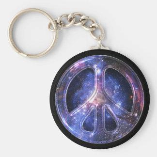 Universal Peace Keychain