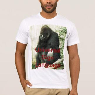 Universal Sign Language T-Shirt