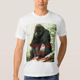 Universal Sign Language T-shirts