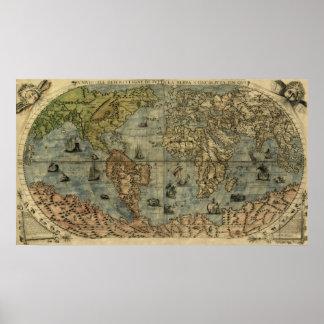 Universale Descrittione Map Poster