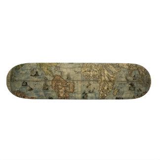 Universale Descrittione Map Skate Board Deck