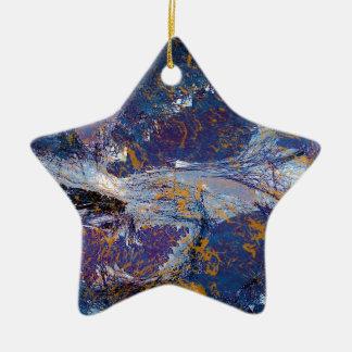Universe Ceramic Star Decoration