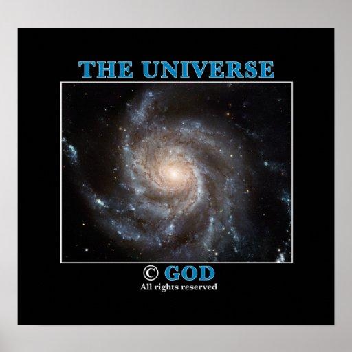 Universe Copyright Print