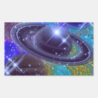 UNIVERSE DESIGN RECTANGLE STICKER