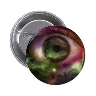 Universe Eyeball 6 Cm Round Badge