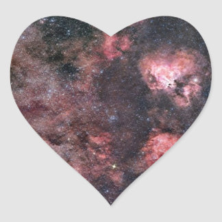 Universe Heart Sticker