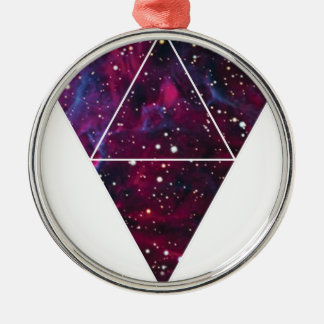 Universe Of Triangles Space Life Christmas Ornament