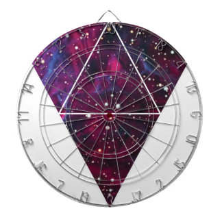 Universe Of Triangles Space Life Dartboard