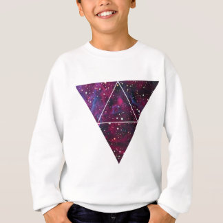 Universe Of Triangles Space Life Sweatshirt
