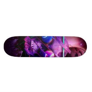 Universe skull galaxy 19.7 cm skateboard deck