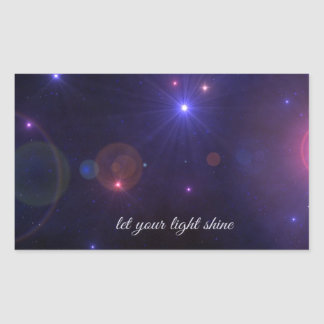Universe Stars Inspirational Quote Stickers
