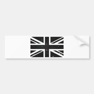 Universe Union Jack British(UK) Flag Bumper Sticker