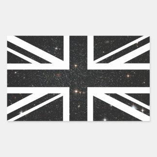 Universe Union Jack British(UK) Flag Sticker