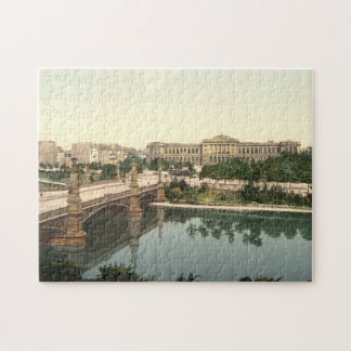 University and Bridge, Strasbourg, Alsace, France Jigsaw Puzzle