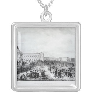 University College School, London, 1835 Silver Plated Necklace