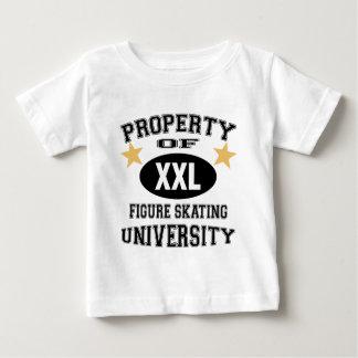 University Figure Skating Baby T-Shirt