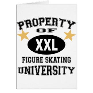 University Figure Skating Card