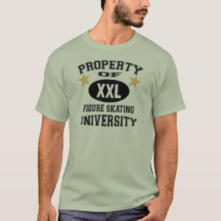 University Figure Skating T-Shirt