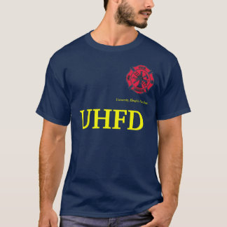 University Heights iowa Fire Dept. - Customized T-Shirt