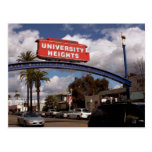 University Heights, San Diego Postcard