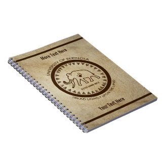 University of Beringia Mammoth Seal Note Books