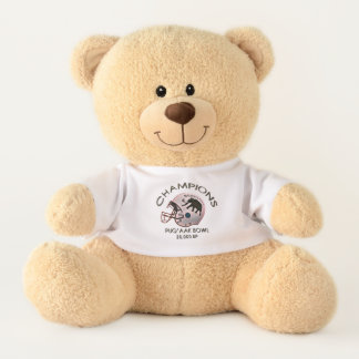University of Beringia Puq'aak Bowl Championship Teddy Bear