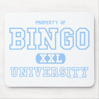University Of Bingo Alumni mouse pad