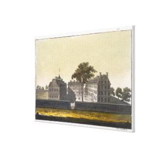 University of Cambridge, Massachusetts, from 'Le C Canvas Print