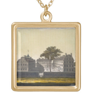 University of Cambridge, Massachusetts, from 'Le C Gold Plated Necklace