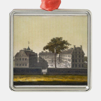 University of Cambridge, Massachusetts, from 'Le C Silver-Colored Square Decoration