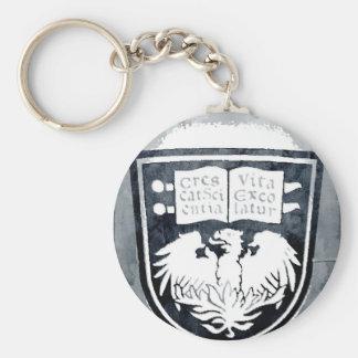 University of Chicago Seal Keychain