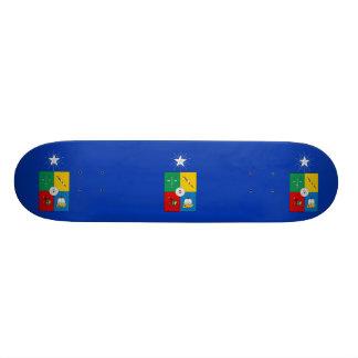 University Of Chile, Chile flag Skateboard Deck
