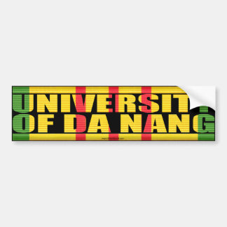 University of Da Nang Sticker Bumper Sticker