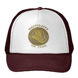 University of Iraq Seal Mesh-Back Hat