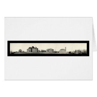 University of Kansas Photo 1908 Greeting Cards