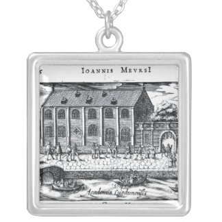 University of Leiden,'A Dutch Athens' Silver Plated Necklace
