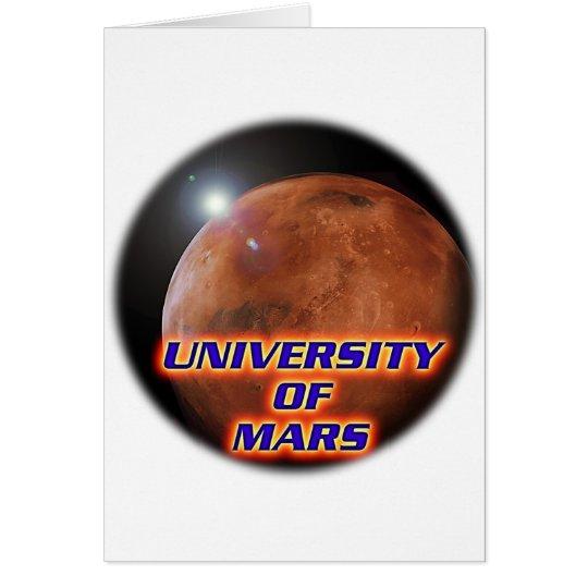 University of Mars Card