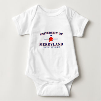 University of Merryland Infant T Baby Bodysuit
