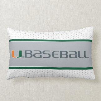 University of Miami Baseball Lumbar Cushion