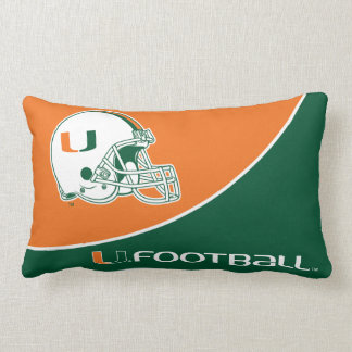 University of Miami Football Lumbar Cushion